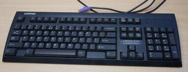 HP Compaq KB-9965 PS/2 toetsenbord zwart