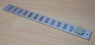 SENCYS 5160334 schuifrooster ventilatiestrip, maat 370 x 40 mm