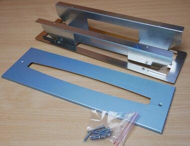 Van Lien 32130201 inbouwraam noodverlichtingsarmatuur Serenga, aluminium