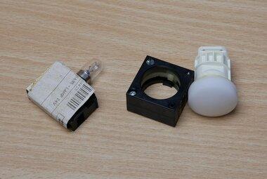 Siemens 3SB3400-1D signaallamp wit 24V