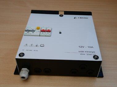 Cristec UECPS/12-10/2D Energie-eenheid CPS2 - 12V-10A 2-uitgangen