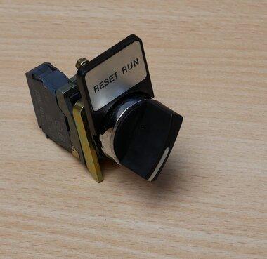 Telemecanique schakelaar met 1x ZBE-101 (NO) contact element, 2 standen