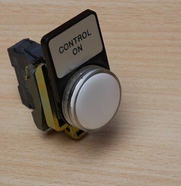 Telemecanique ZBV-B1 signaallamp LED wit