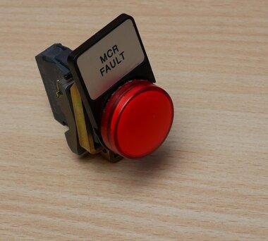 Telemecanique ZBV-B4 signaallamp LED rood