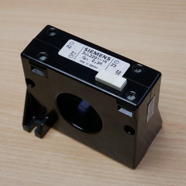 Siemens 3UL2201-1A Current Transformer 2P 0.3 A