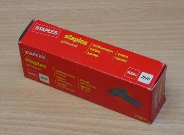 Staples 7535888 nietjes 26/6mm Staal (5000 stuks)