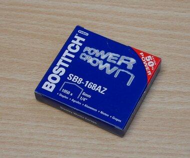 Bostitch SB8-168AZ Nieten b8 staal 6mm 1/4'' (1050 stuks)
