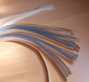 Klemband strip aluminium