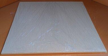Geperforeerd stalen plafondrooster 595x595x9mm