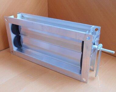 Trox JZ-G 500x200 mm Registerklep ventilatierooster regelklep