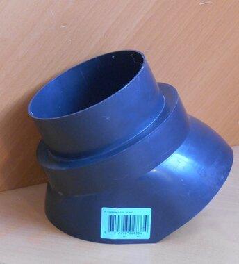 Burgerhout glijkap scharnierkap PP F128-132 zwart