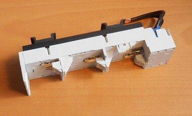 Rittal SV 9340.660 OM ADAPTER 32A, 690V, 55x208mm 1.5.6 qmm, draagframe 1, TS55B