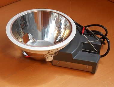 Lumiance INSAVER 225 HE OPEN 2X18W wit 3001890 excl. lamp