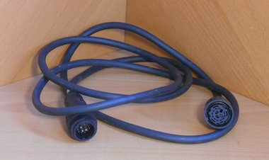 Amphenol kabeldoos en stekker recht C16-3 incl. 2,4 meter kabel