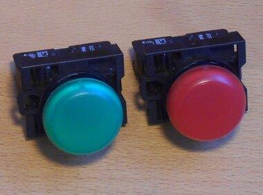 Moeller licht module M22-CLED rood