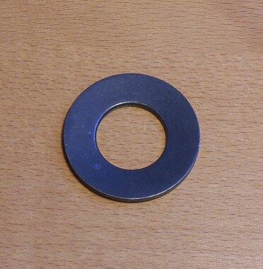 Fabory Schotelveer staal DIN 2093 40x20.4x2.25