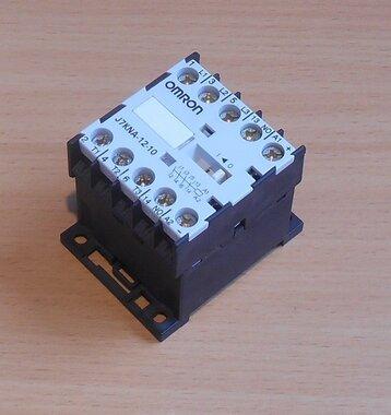Omron 5,5 kW, 12 A (AC-3, 400 VAC motor) magneetschakelaar 24VDC J7KNA-12-11