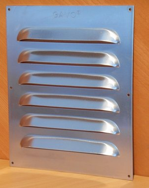 GAVO Aluminium schoepenrooster 250x300mm 240 gr 100394649
