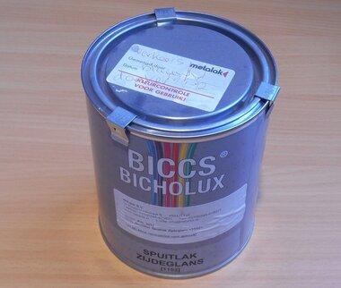 biccs bicholux spuitlak zijdeglans 5017 vekeersblauw 1 liter