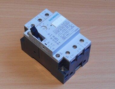 Siemens motorstarter 3VU1300-1MF00 3P 1NO, 1NC. 0.60-1 A