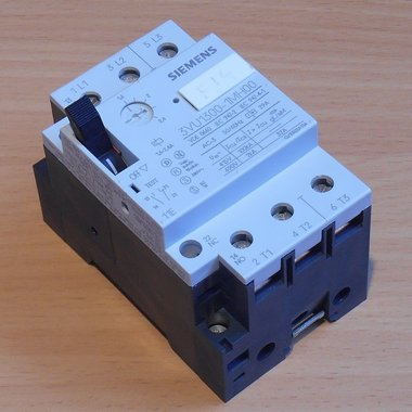Siemens 3VU1300-1MH00 motorstarter protector 3P 1.6-2.4A 1NC+1NO