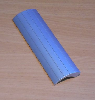 Greep handgreep aluminium 138x39x11 mm boormaat 128mm