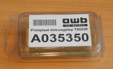 AWB printplaat driewegklep TM3HR A000035350