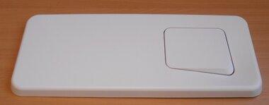 Geberit bedieningsplaat Topline voor spoel-stop-spoeling edelwit 155.392.DK