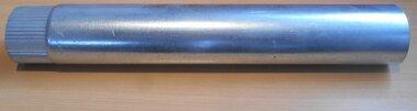 Afvoerpijp gegalvaniseerd staal Ø80mm enkelwandig buis 500mm