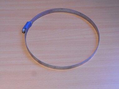 Aba verzinkte wormschroef slangklem 210-230mm