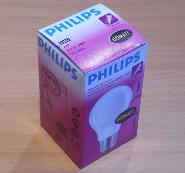 Philips gloeilamp 230V A60 60Watt