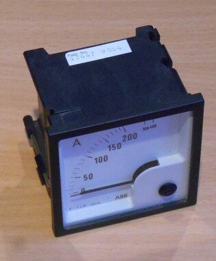 ABB AMP meter 200/5A