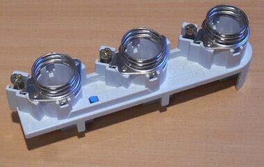 Siemens 5SF6015 D-zekeringhouder DII Pasring Schroefbevestiging
