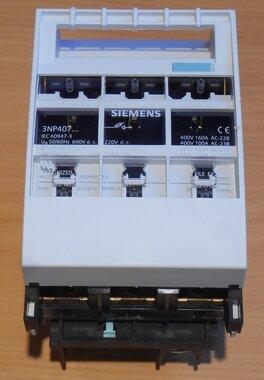 Siemens Indus.Sector NH00-Zekering hoofdschakelaar 160A 3NP4076-1CF01