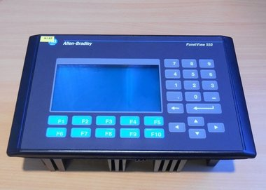 Allen Bradley AB 2711-K5A1 PanelView 550 Operator Interface display