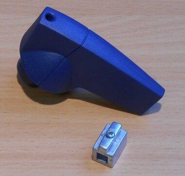 Eaton Draaigreep 6mm Bedienings knop K2SAB 1818003