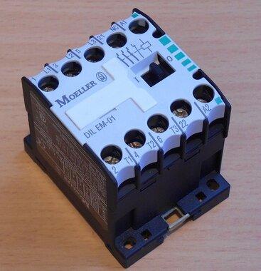 Eaton Moeller magneetschakelaar DILEM-01 230V-50HZ 240V-60HZ 20A