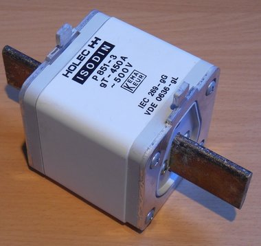 Eaton Isodin mespatroon gG 450A 500Vac size 3 Smeltpatroon P351-3 1328160