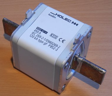 Eaton Isodin mespatroon gf 450A 500Vac size 3 Smeltpatroon P852-3 1328240
