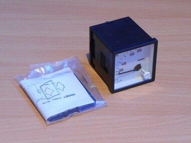 Faget Amperemeter paneelbouw EIV48 5-800A meter