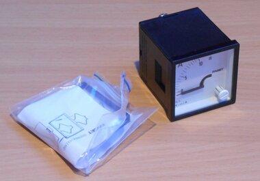 Faget Amperemeter paneelbouw EIV48 0-10A meter