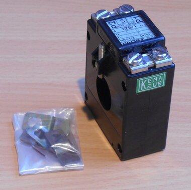 Faget Eleq Stroommeettransformator trafo RM60-E2A 125/1 3-5VA KL1-3