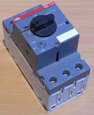 ABB Motorbeveiligingsschakelaar MS116-0.4 0,25-0,4A