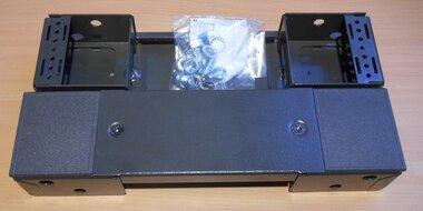 ELDO sokkel kast/lessenaar MCD-MCS-MKD-MKS staal grijs PF1040