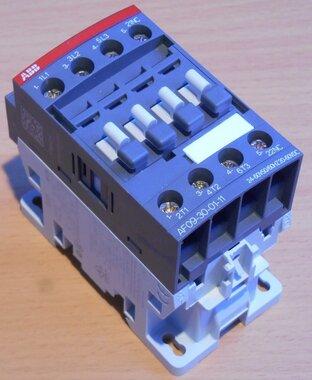 ABB AF09-30-01-11 magneetschakelaar 3P 1NC 25A