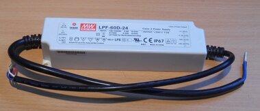 Mean Well LED-driver LED-schakelnetvoeding LPF-60D-24