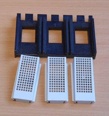 Eaton Moeller NZM1-IP2X aanrakingsbeveiliging voor raamklem NZM1 3p