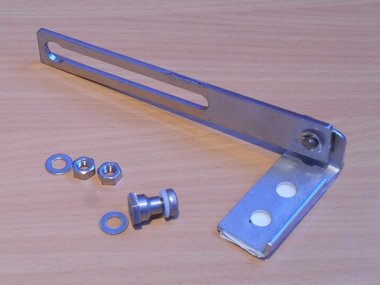 Eldon ADO200S componenten deur voor kast lessenaar metaal lengte 2.5mm
