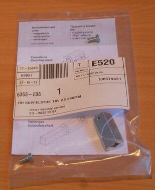 Eaton Koppelstuk 1319833 tbv as 6x6mm