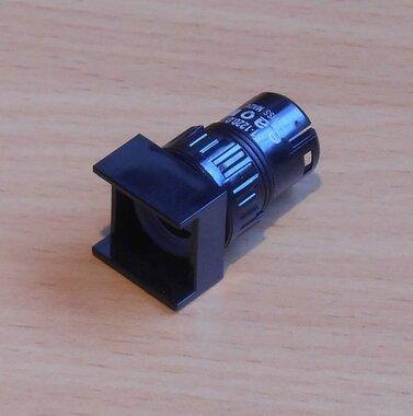 EAO 61-1200.0 Drukknop frontelement zonder toetsenplaat 16mm